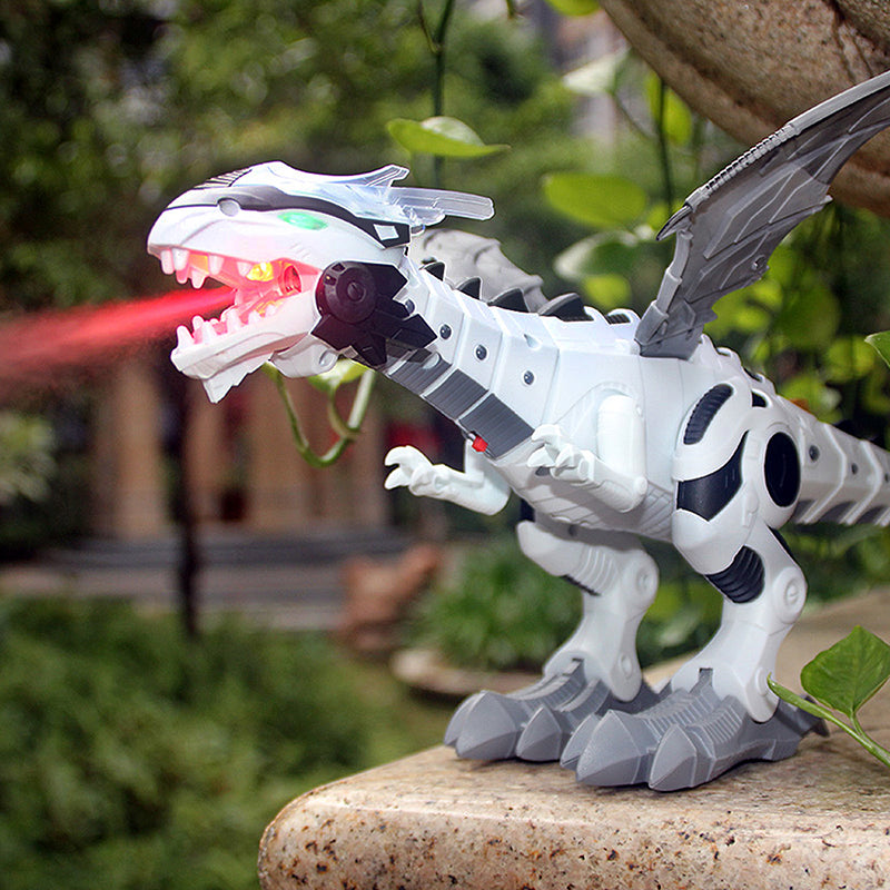 Large Spray Mechanical Dinosaurs - Babies Hunt