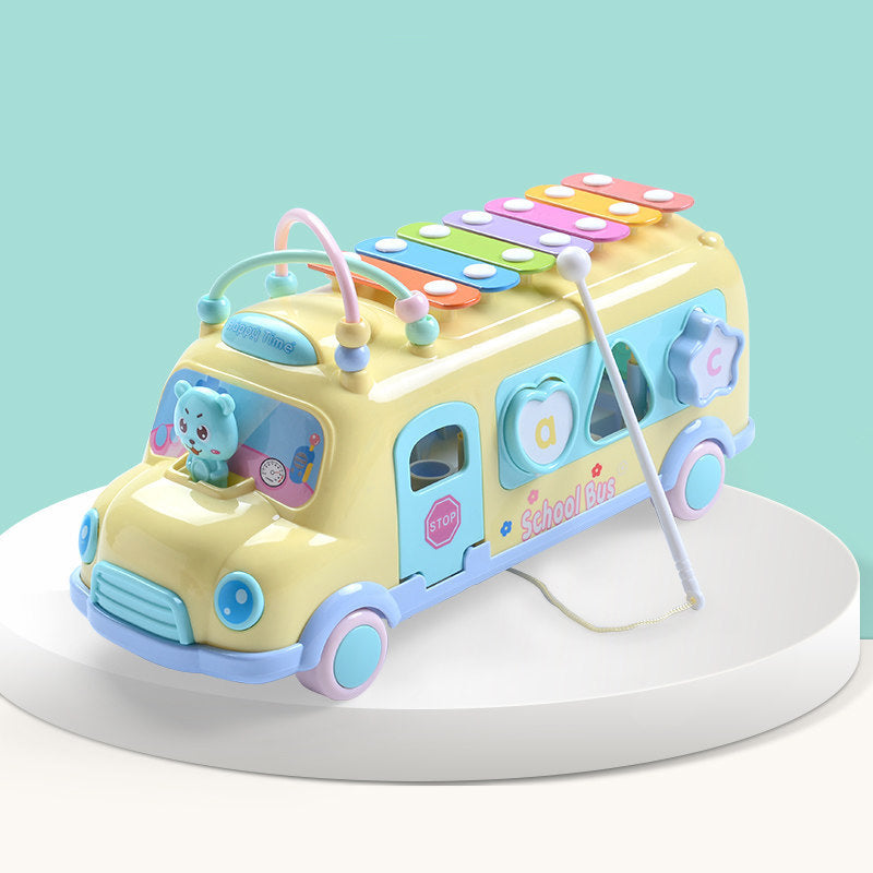 Educational Baby Learning Music Bus - Babies Hunt