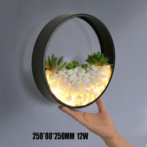 Plant wall lamp - Babies Hunt