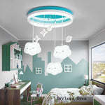 White cloud chandelier - Babies Hunt