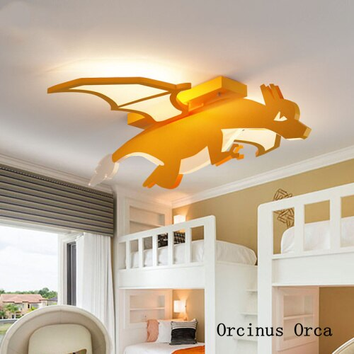 Breathing Dragon Lamp - Babies Hunt
