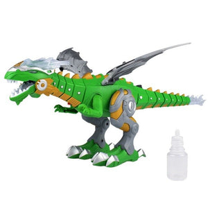 Electric Spray/Sound And Light Fire-Breathing Mechanical Dragons Dinosaur - Babies Hunt