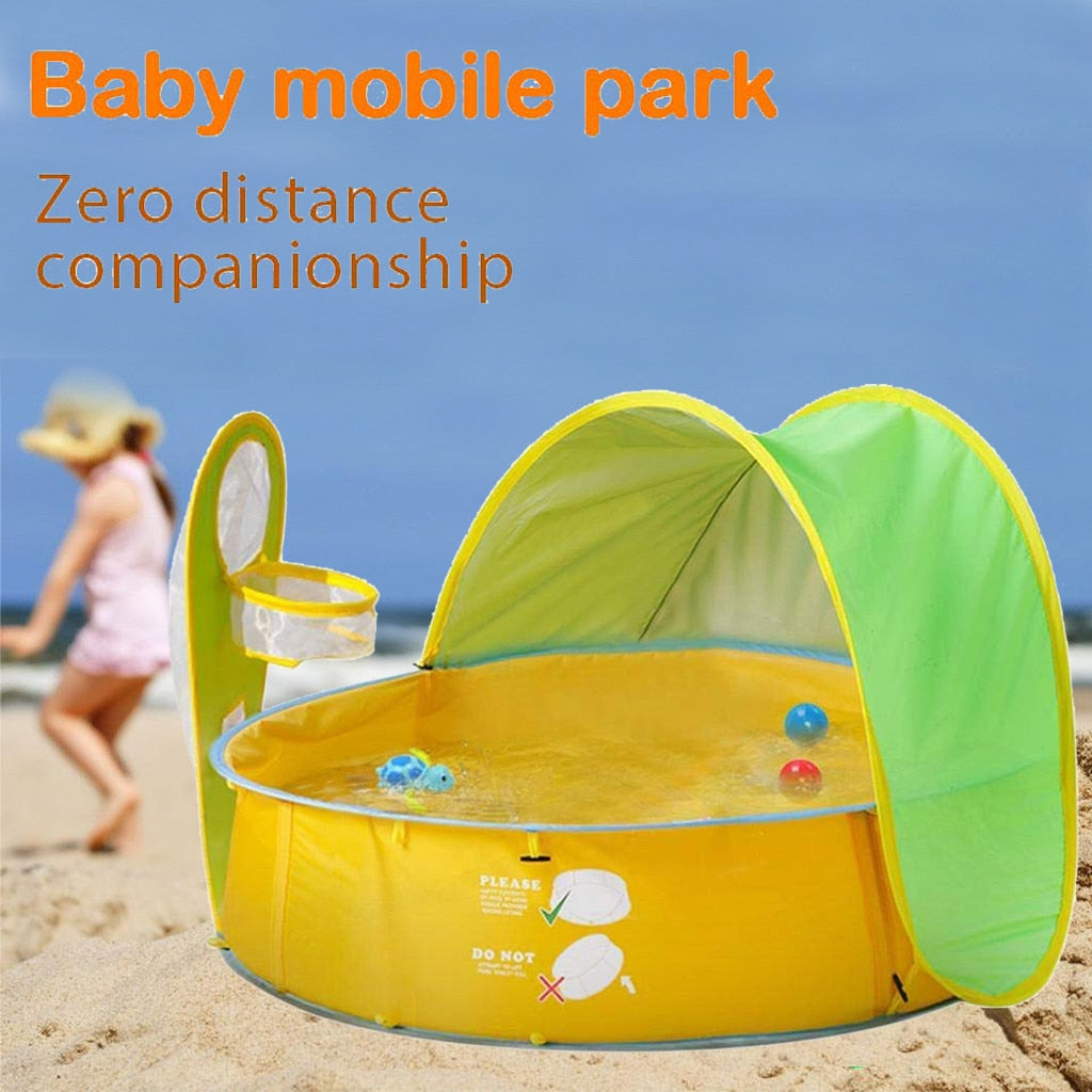 Baby Pool Beach Tent - Babies Hunt