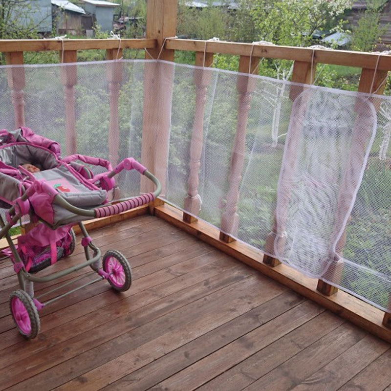 SAFETY NET FOR OPEN STAIRS - Babies Hunt