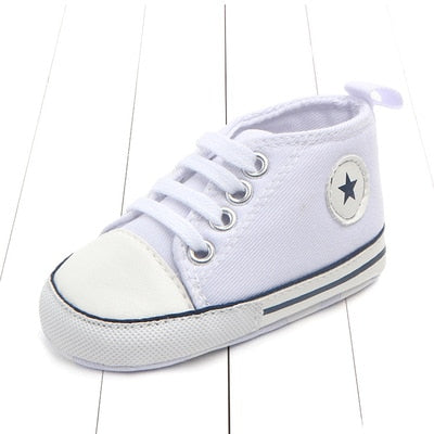 New Canvas Newborn Boys Shoes - Babies Hunt