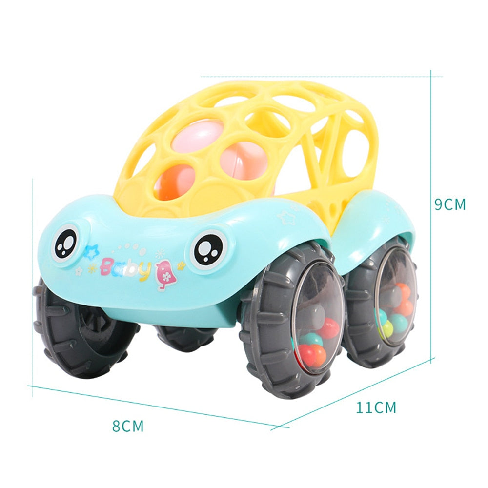 Baby Colorful Car Rattles - Babies Hunt