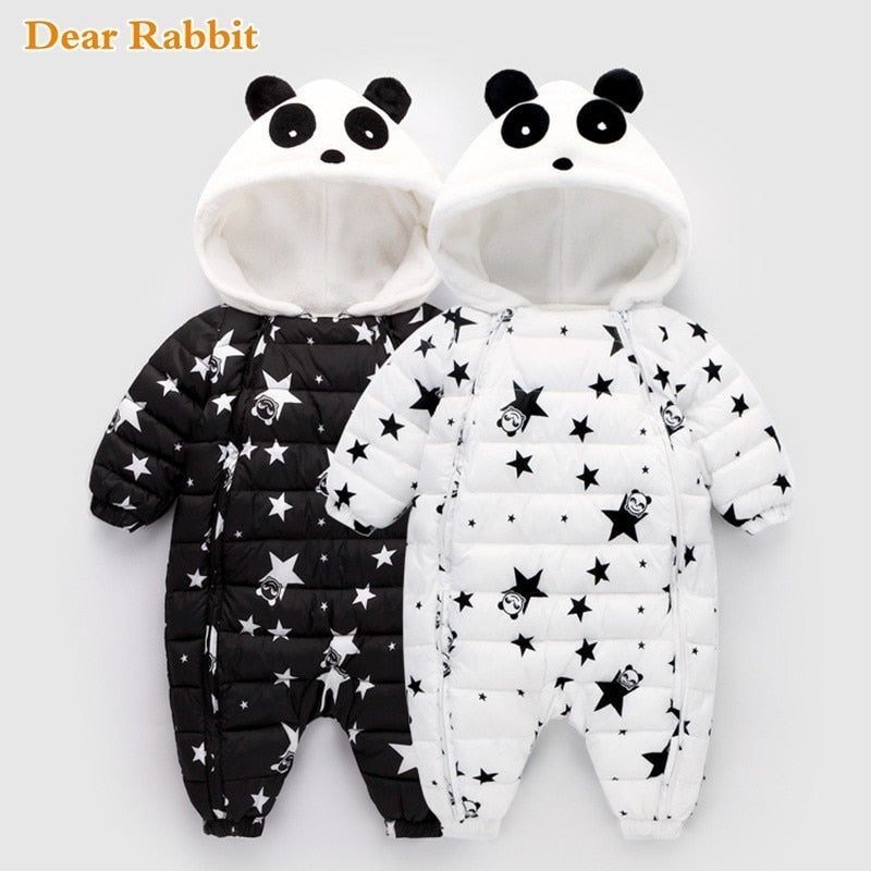 Winter Panda Baby Rompers - Babies Hunt