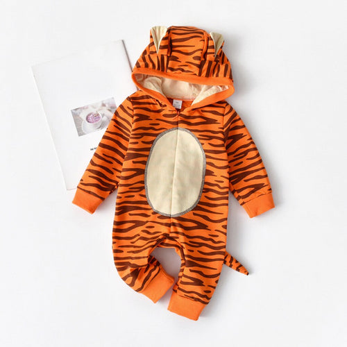 Newborn Baby Tiger Hooded Costume - Babies Hunt
