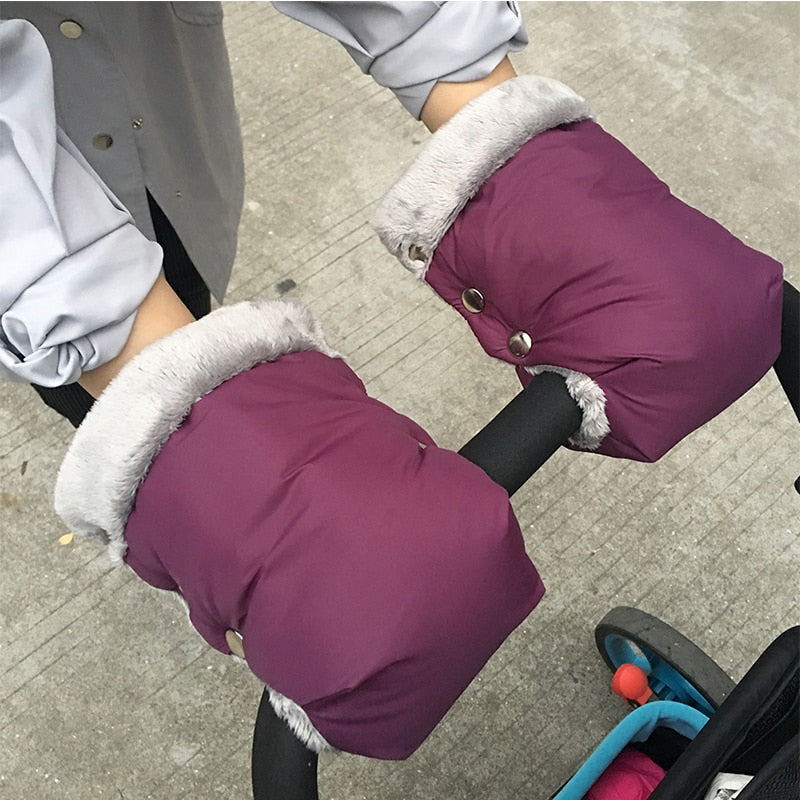 WINTER STROLLER GLOVES HAND MUFFS - Babies Hunt