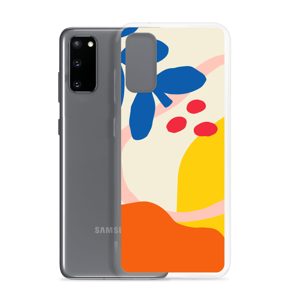 Decal Kings Abstract Flower Samsung Case