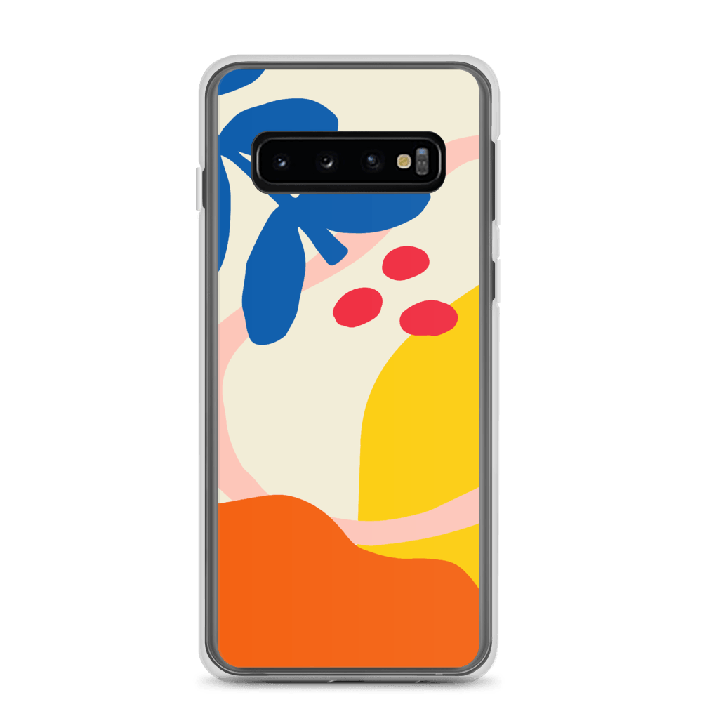 Decal Kings Samsung Galaxy S10 Abstract Flower Samsung Case