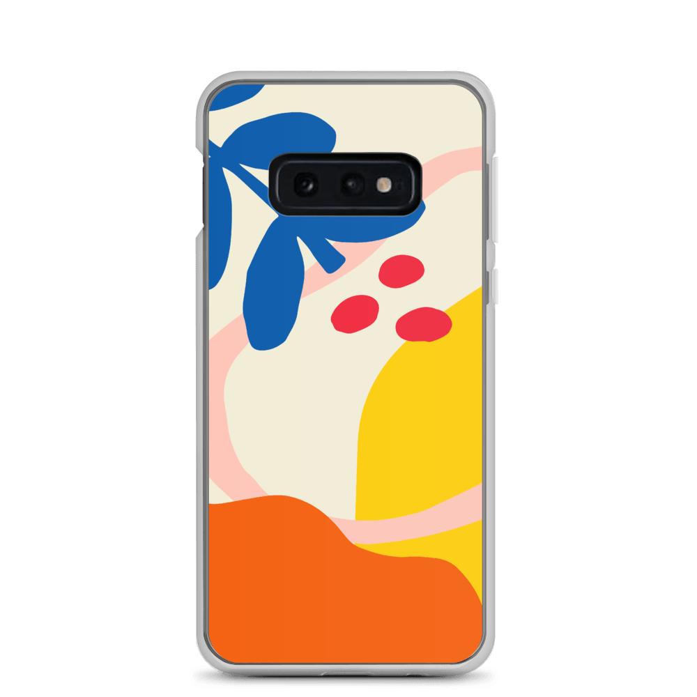 Decal Kings Samsung Galaxy S10e Abstract Flower Samsung Case