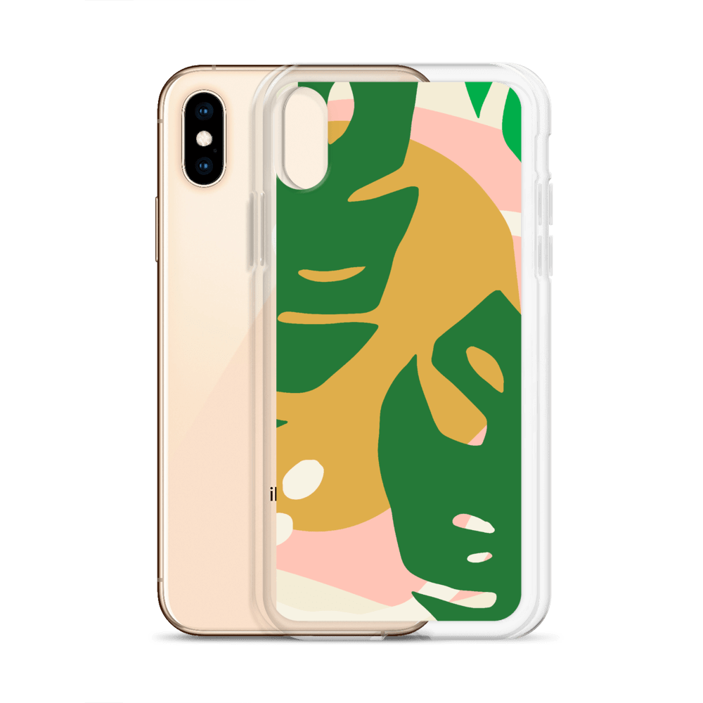Decal Kings iPhone Case Abstract Leaves iPhone Case