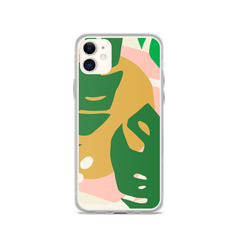 Decal Kings iPhone Case iPhone 11 Abstract Leaves iPhone Case