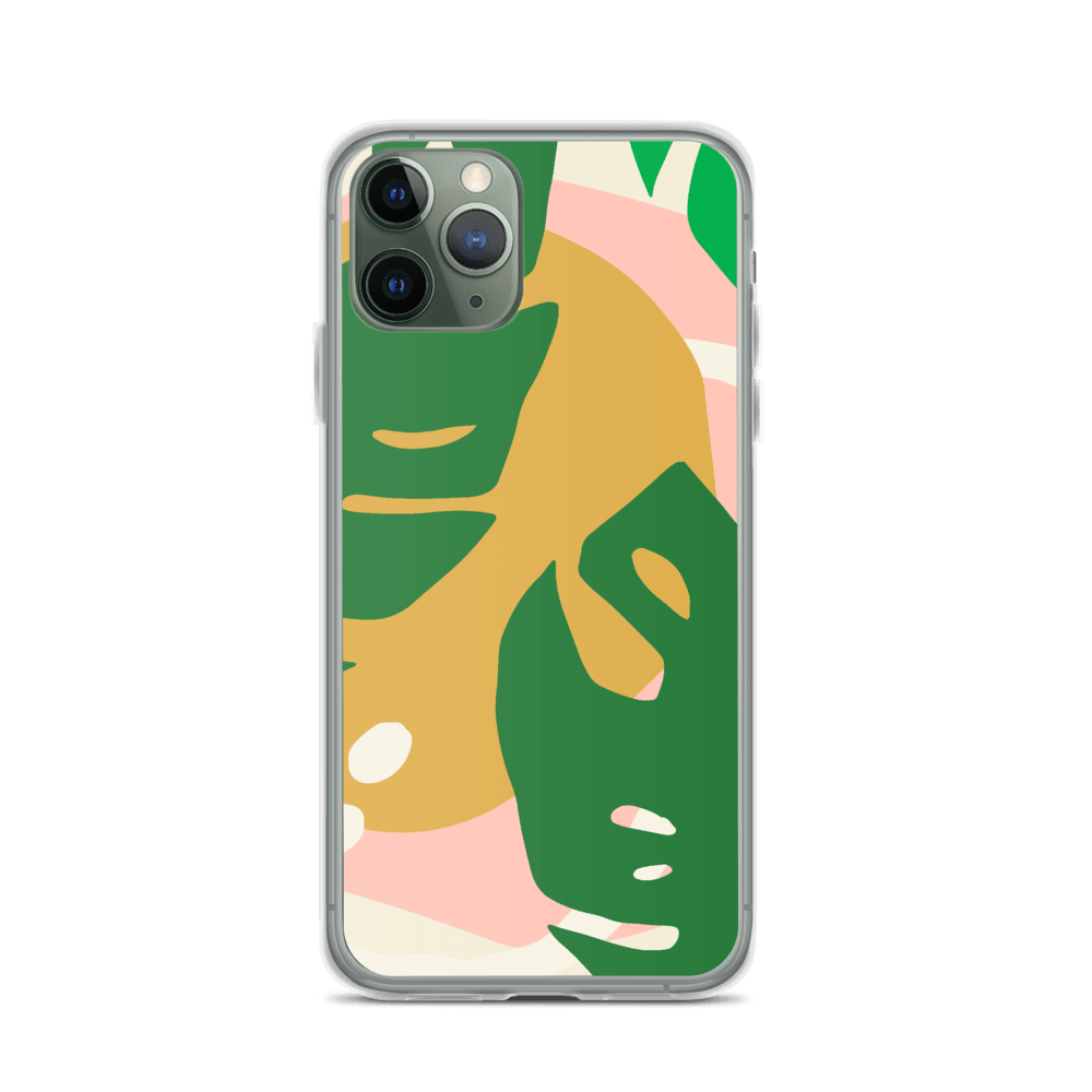 Decal Kings iPhone Case iPhone 11 Pro Abstract Leaves iPhone Case