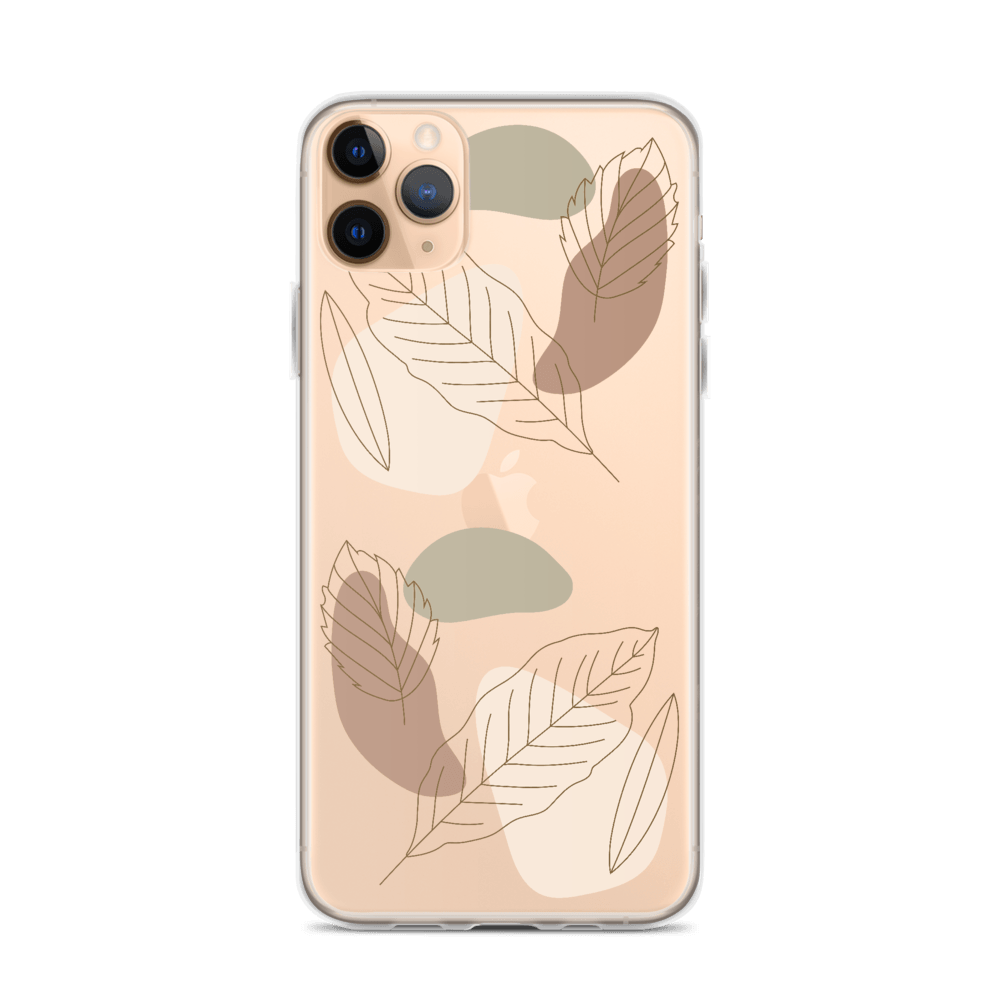 Decal Kings iPhone Case iPhone 11 Pro Max Abstract Leaves iPhone Case