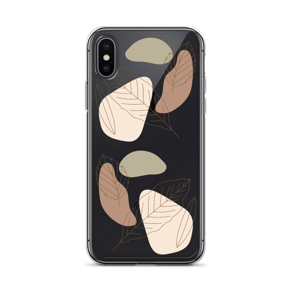 Decal Kings iPhone Case iPhone X/XS Abstract Leaves iPhone Case