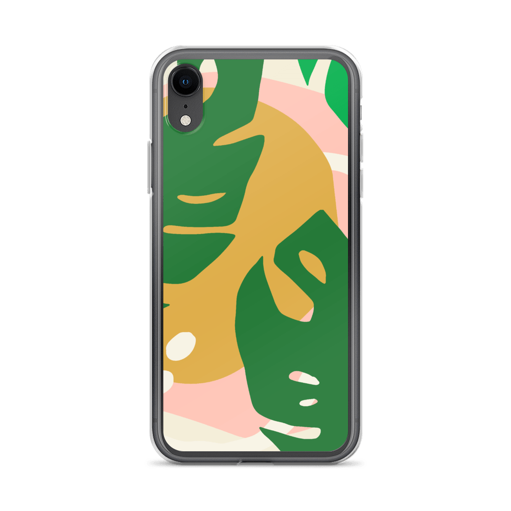 Decal Kings iPhone Case iPhone XR Abstract Leaves iPhone Case