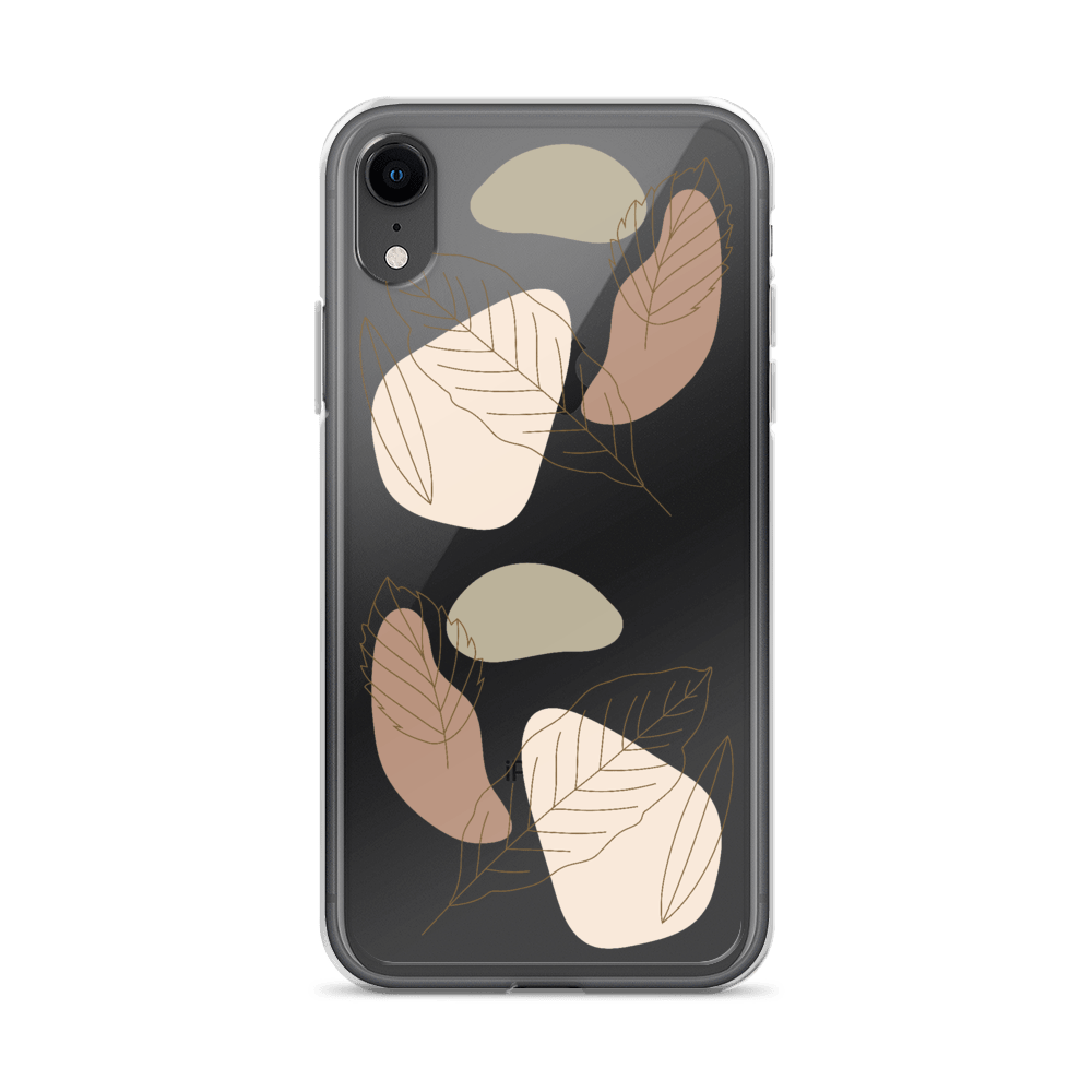 Abstract Leaves iPhone Case - Decal Kings