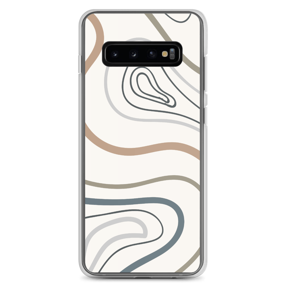 Decal Kings Samsung Galaxy S10+ Abstract Lines Samsung Case