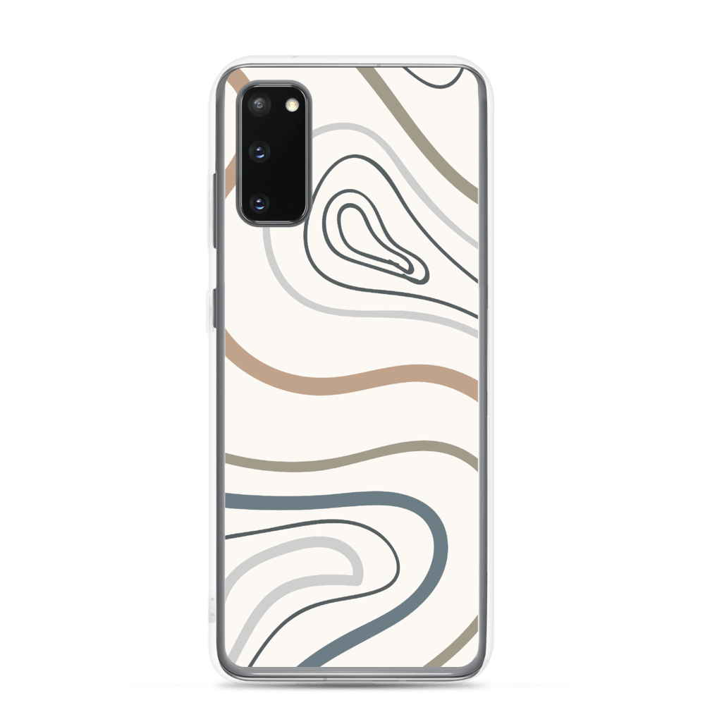 Decal Kings Samsung Galaxy S20 Abstract Lines Samsung Case