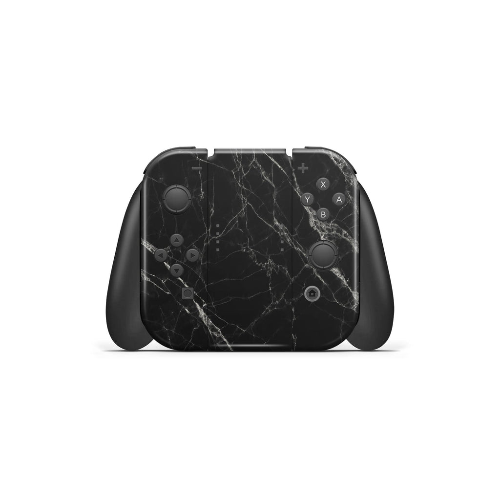 Decal Kings Nintendo Switch Skin Black Marble Nintendo Switch Skin