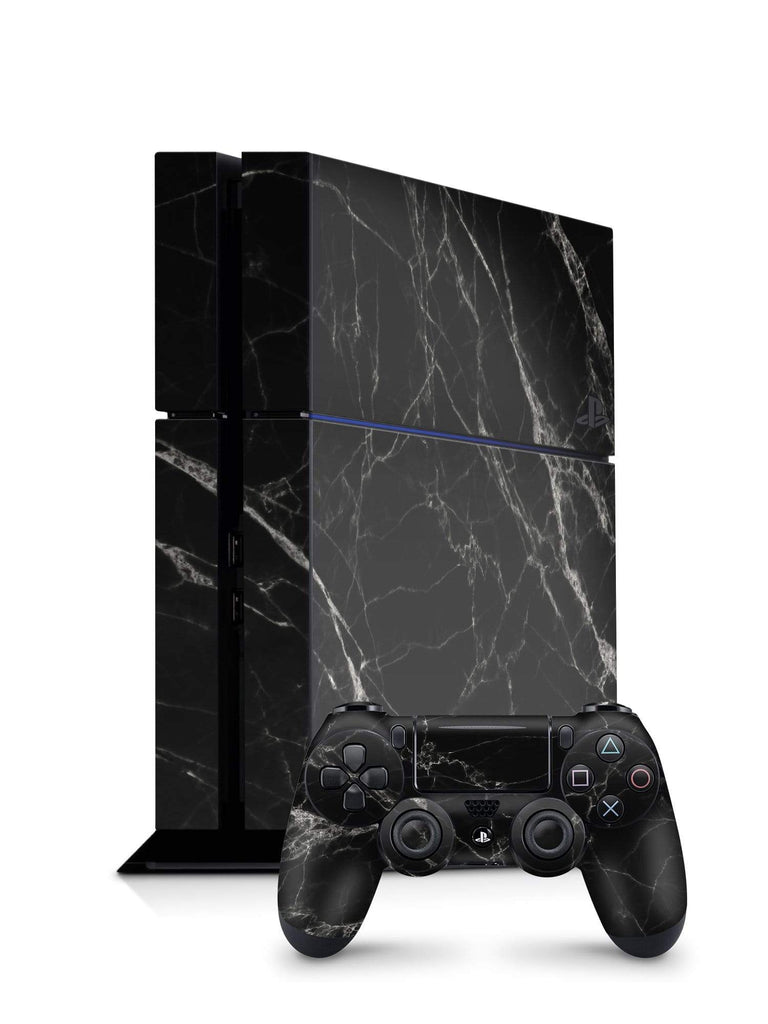 Decal Kings PlayStation 4 Skin PlayStation 4 / Console + Controllers Black Marble PS4 Skin