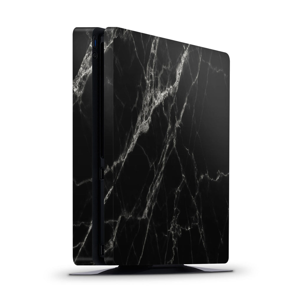 Decal Kings PlayStation 4 Skin PlayStation 4 Slim / Console Black Marble PS4 Skin