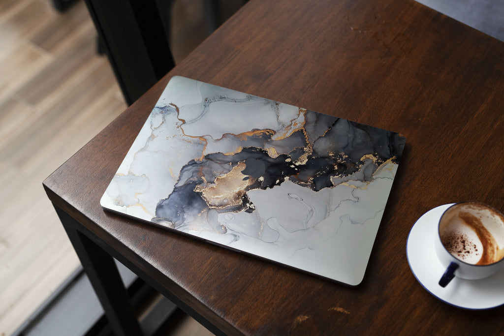Black Smoky MacBook Skin - Apple MacBook Skin