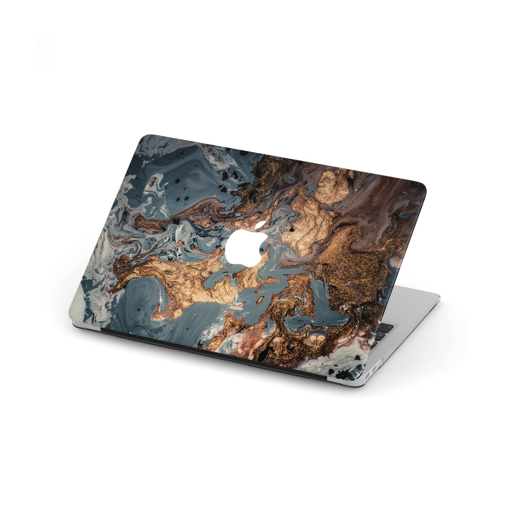 Decal Kings Apple MacBook Skin Blue & Brown Marble MacBook Skin