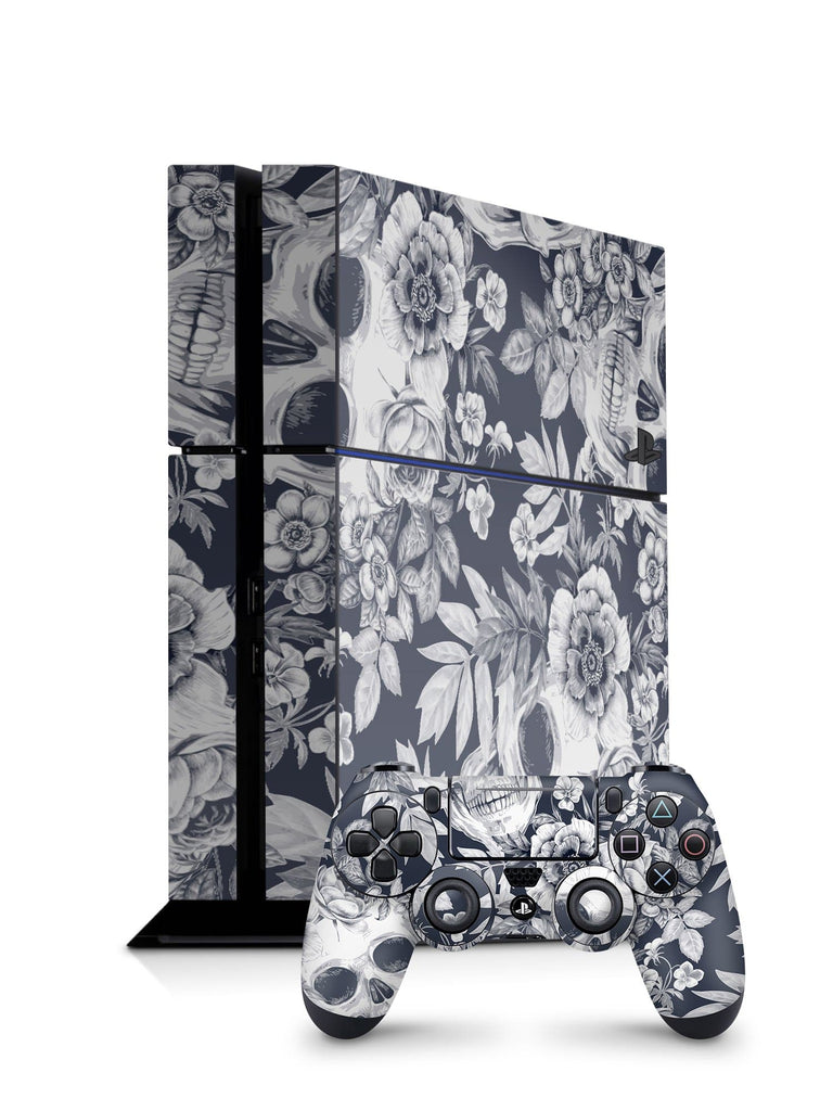 Decal Kings PlayStation 4 Skin PlayStation 4 / Console + Controllers Blue Skulls PS4 Skin