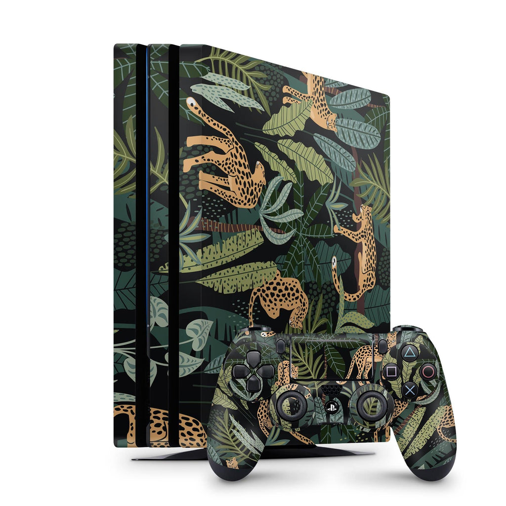 Decal Kings PlayStation 4 Skin PlayStation 4 Pro / Console + Controllers Cheetah PS4 Skin