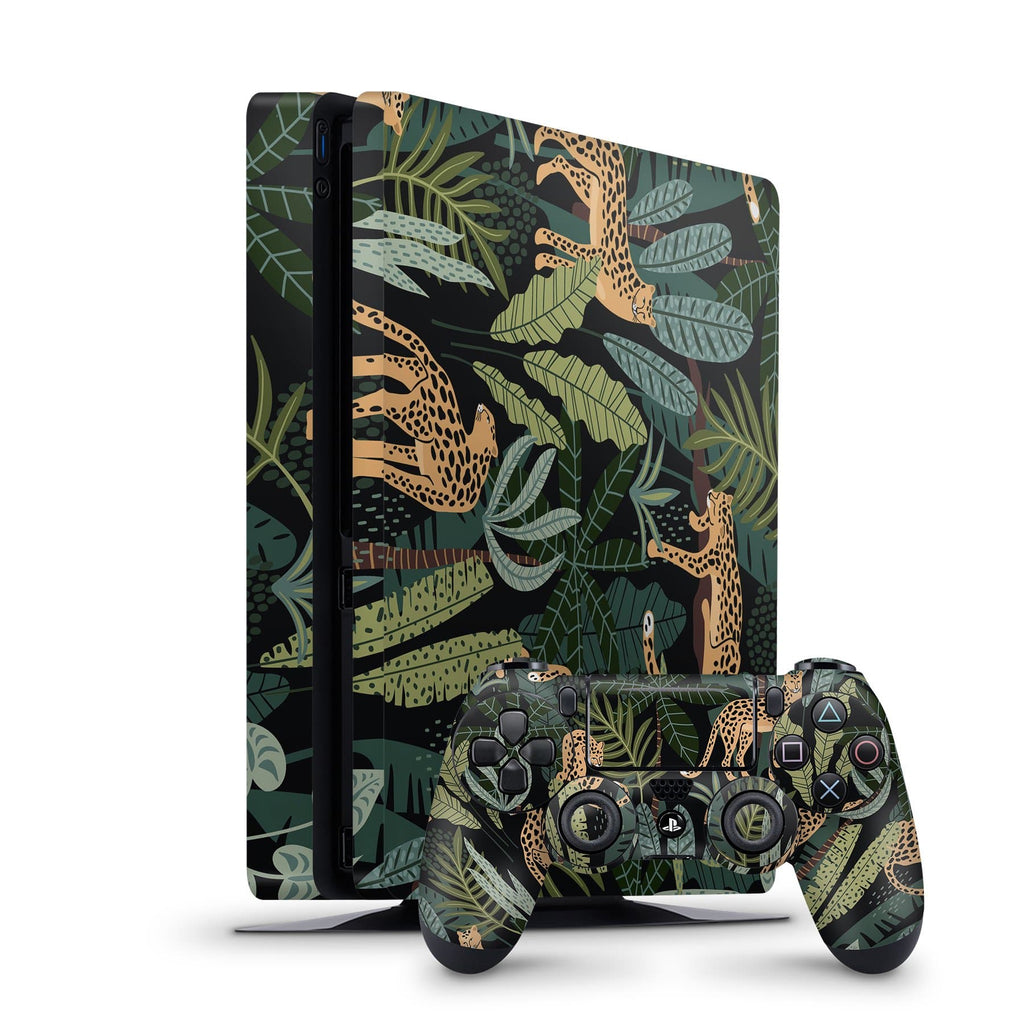 Decal Kings PlayStation 4 Skin PlayStation 4 Slim / Console + Controllers Cheetah PS4 Skin