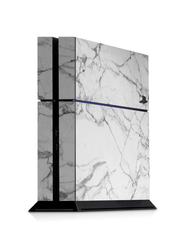 Decal Kings PlayStation 4 Skin PlayStation 4 / Console Classic White Marble PS4 Skin