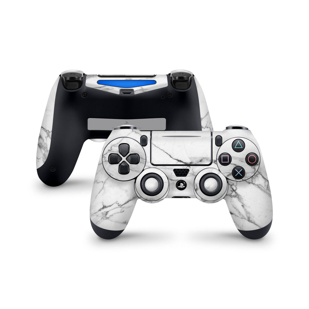 Decal Kings PlayStation 4 Skin PlayStation 4 / Controller Classic White Marble PS4 Skin