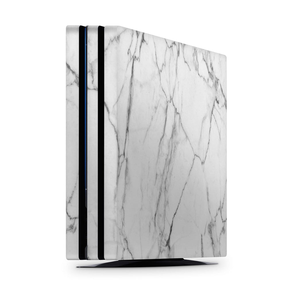Decal Kings PlayStation 4 Skin PlayStation 4 Pro / Console Classic White Marble PS4 Skin