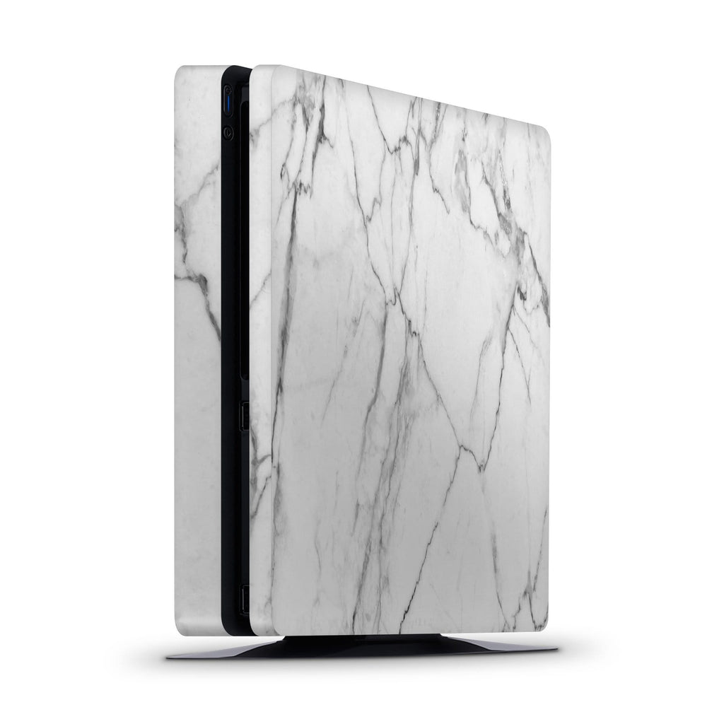 Decal Kings PlayStation 4 Skin PlayStation 4 Slim / Console Classic White Marble PS4 Skin