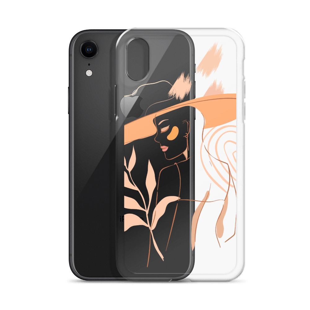 Decal Kings Feminine Lines iPhone Case