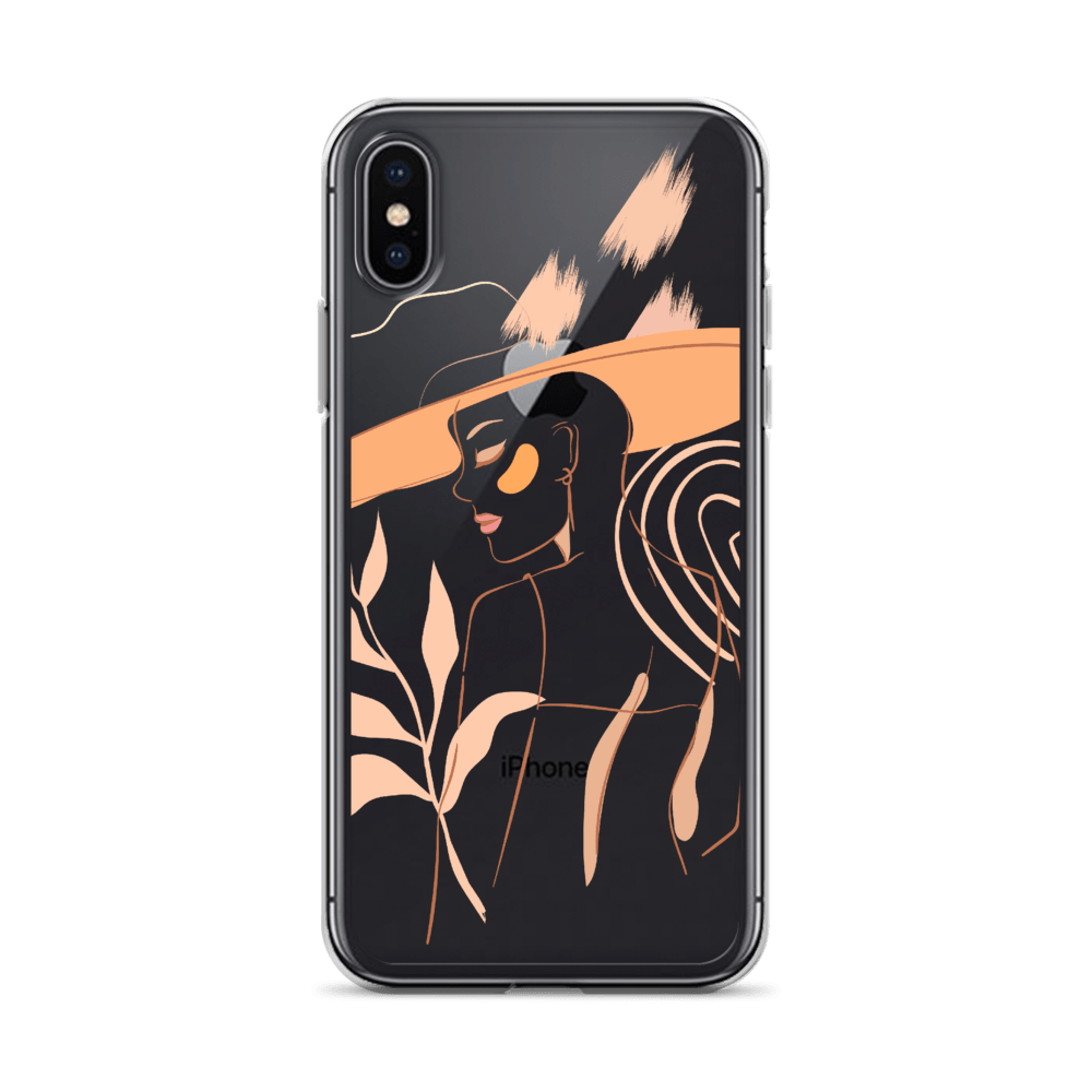 Decal Kings iPhone X/XS Feminine Lines iPhone Case