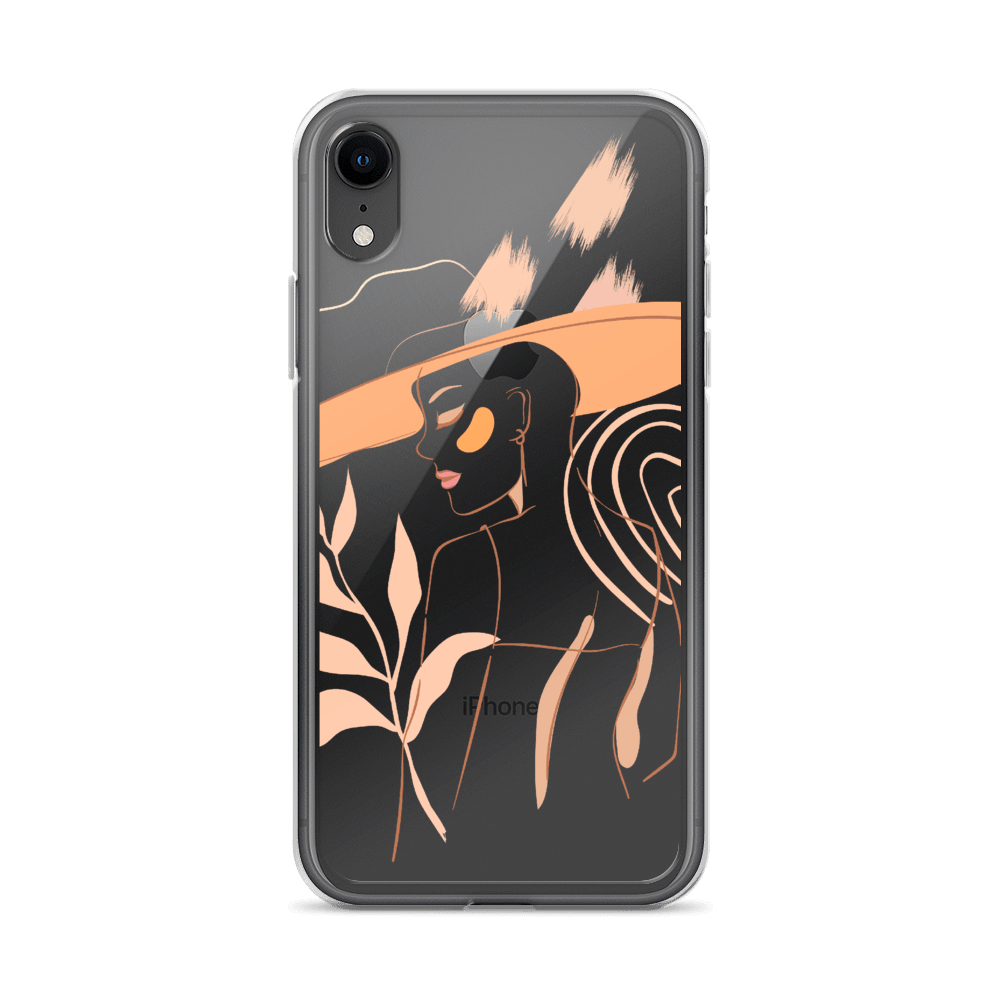 Decal Kings iPhone XR Feminine Lines iPhone Case