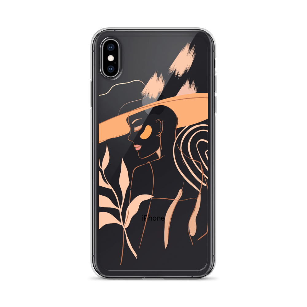 Decal Kings iPhone XS Max Feminine Lines iPhone Case