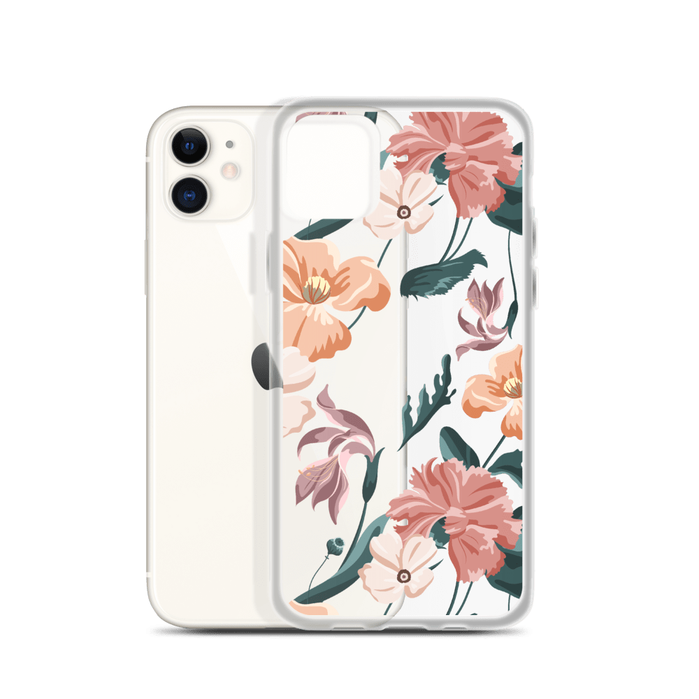 Decal Kings Flower Mix iPhone Case
