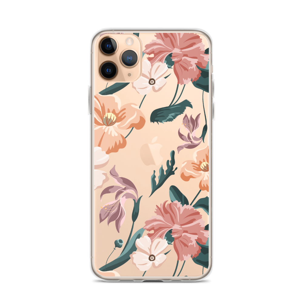 Decal Kings iPhone 11 Pro Max Flower Mix iPhone Case