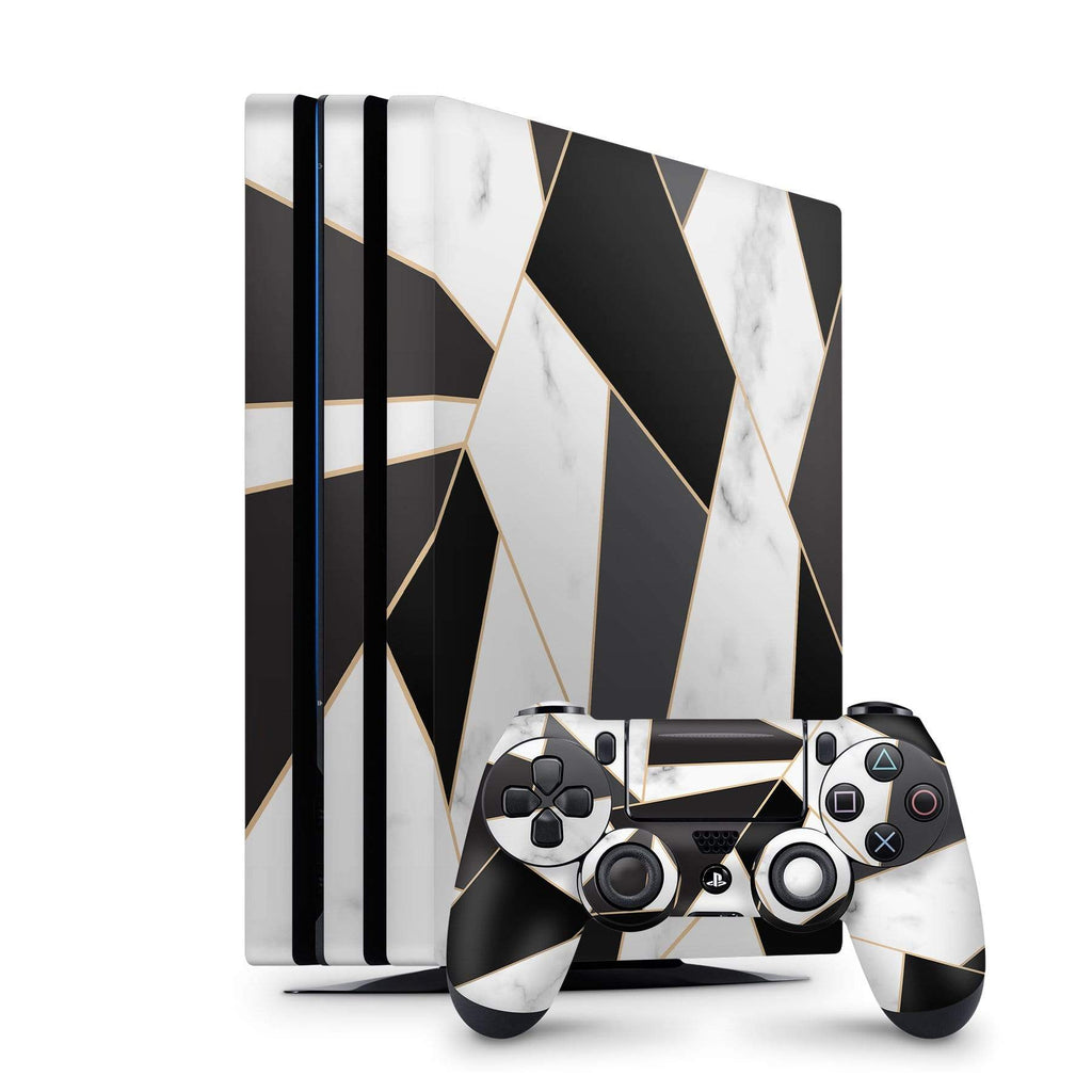Decal Kings PlayStation 4 Skin PlayStation 4 Pro / Console + Controllers Geometric Marble PS4 Skin