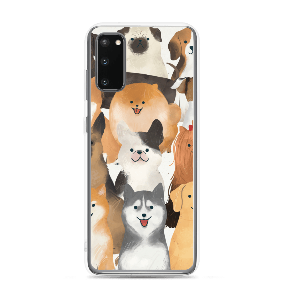Decal Kings Samsung Galaxy S20 Happy Dogs Samsung Case
