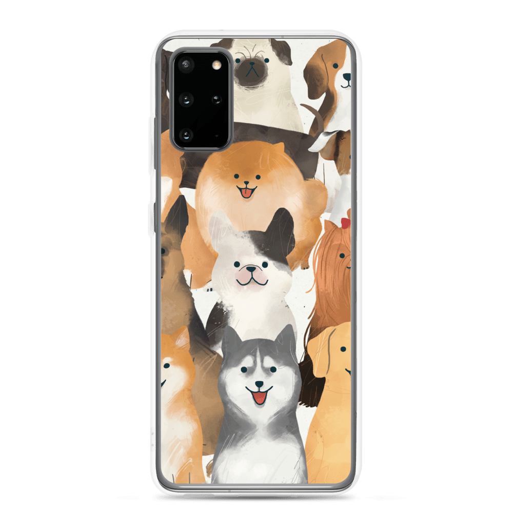 Decal Kings Samsung Galaxy S20 Plus Happy Dogs Samsung Case