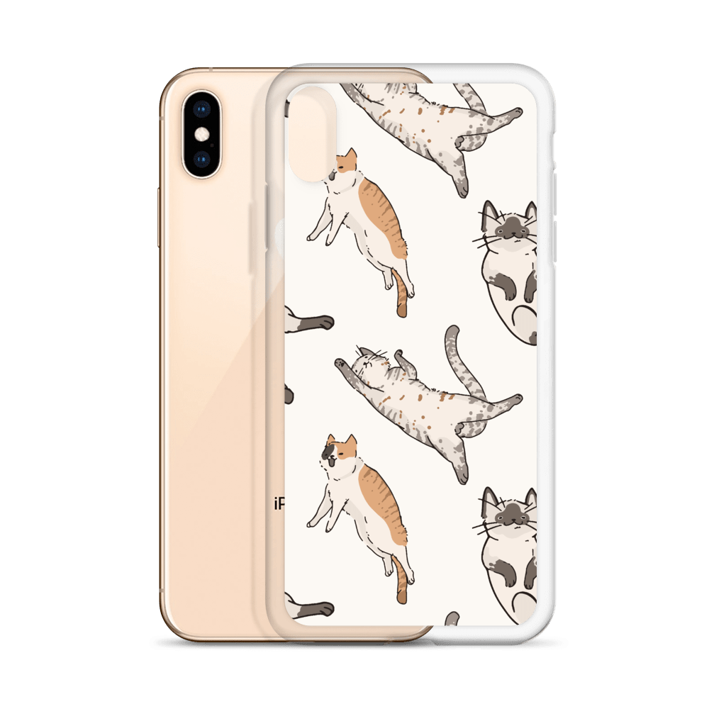 Decal Kings It's Raining Cats! iPhone Case