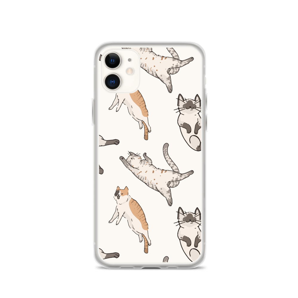 Decal Kings iPhone 11 It's Raining Cats! iPhone Case