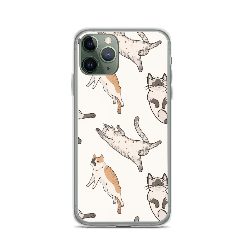 Decal Kings iPhone 11 Pro It's Raining Cats! iPhone Case