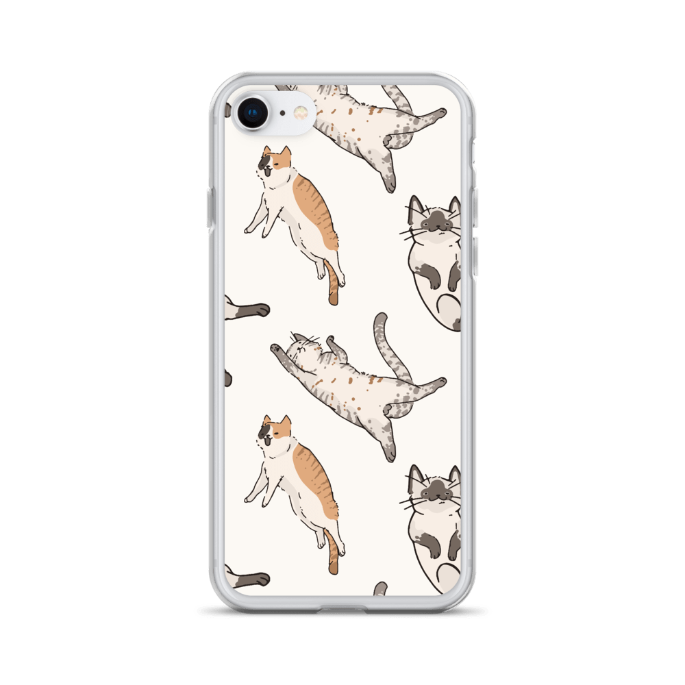 Decal Kings iPhone 7/8 It's Raining Cats! iPhone Case